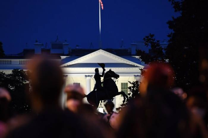 Violence in America, Confederate statues, vandalism, George Floyd protests, race and racism, Andrew Jackson, Lafayette Square