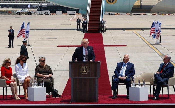 President Trump in Israel