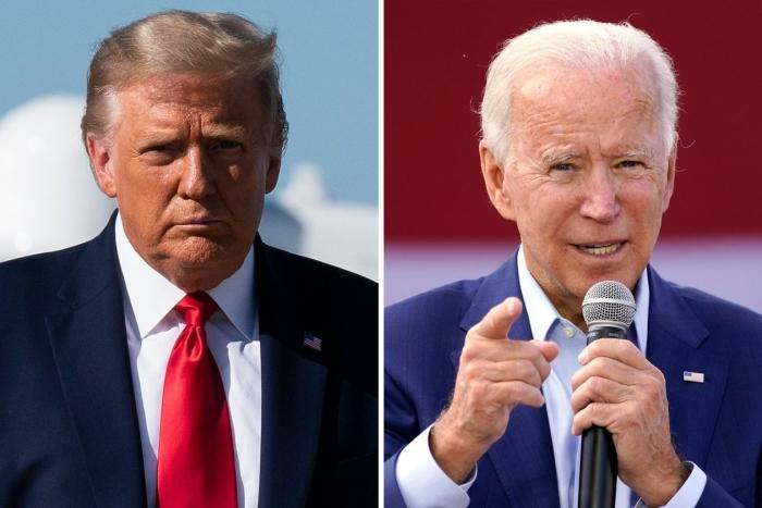 social security, Joe Biden, Donald Trump