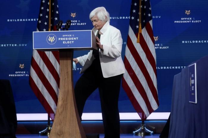 Economic policy, Treasury, Janet Yellen