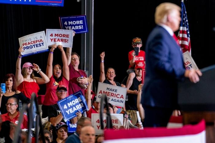 coronavirus, Trump rallies, BLM, protests