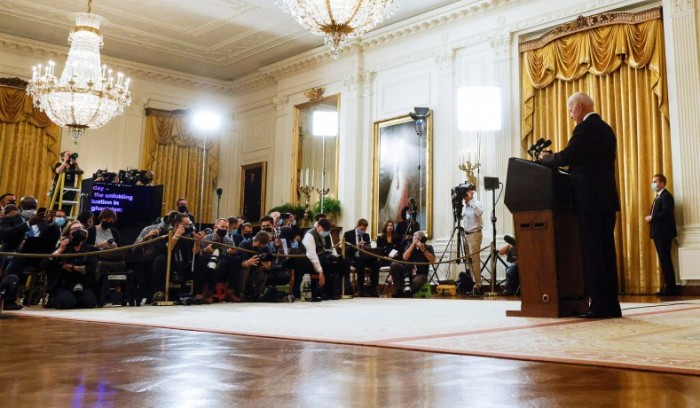media industry, Joe Biden, Afghanistan