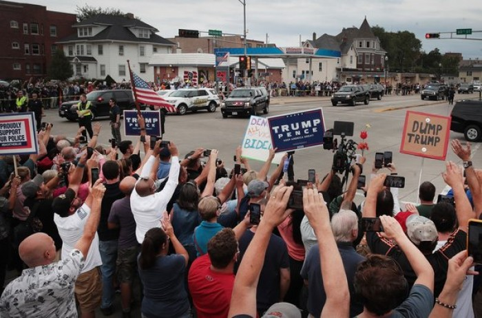 Violence in America, protests, 2020 Election