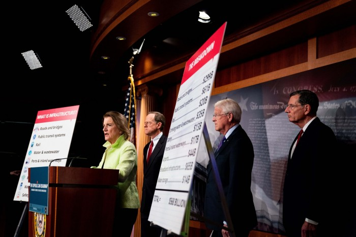 transportation, infrastructure, Senate GOP