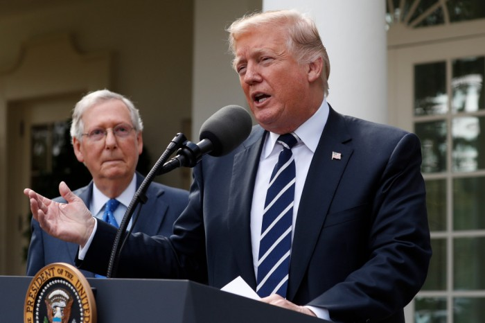 impeachment, Mitch McConnell, Donald Trump