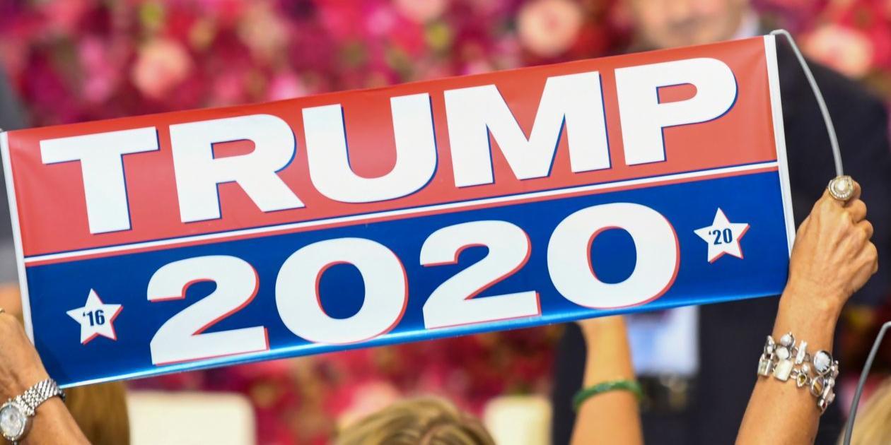 Election 2020, Donald Trump