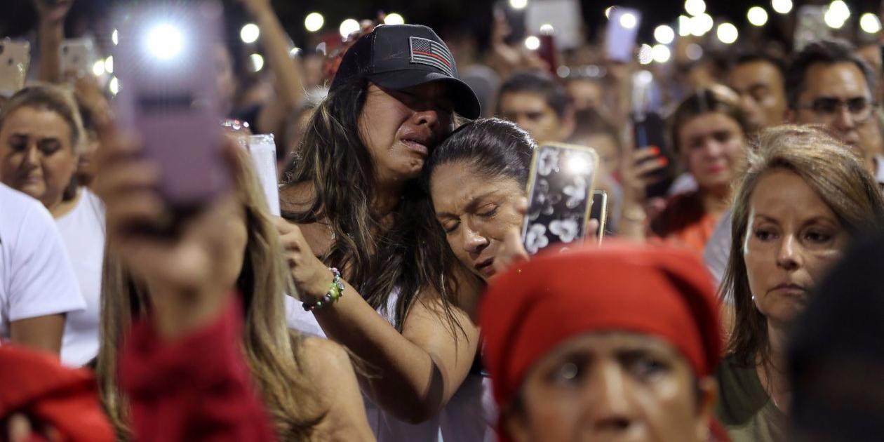 Violence in America, El Paso, Dayton